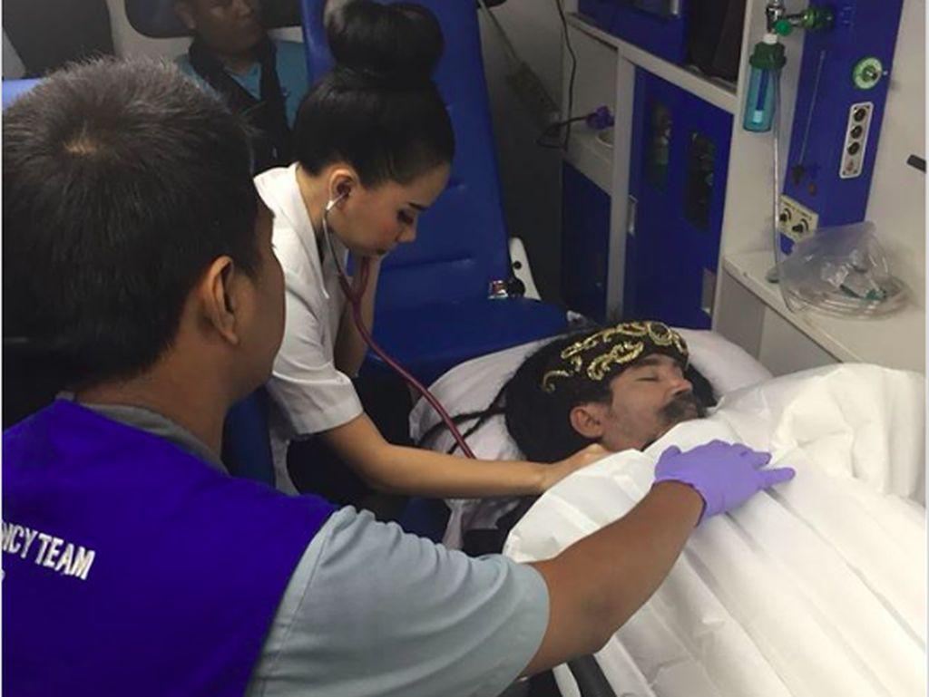 Chat Dokter dan Foto Beli Cemilan Beredar, Limbad Pingsan Dituding Gimmick
