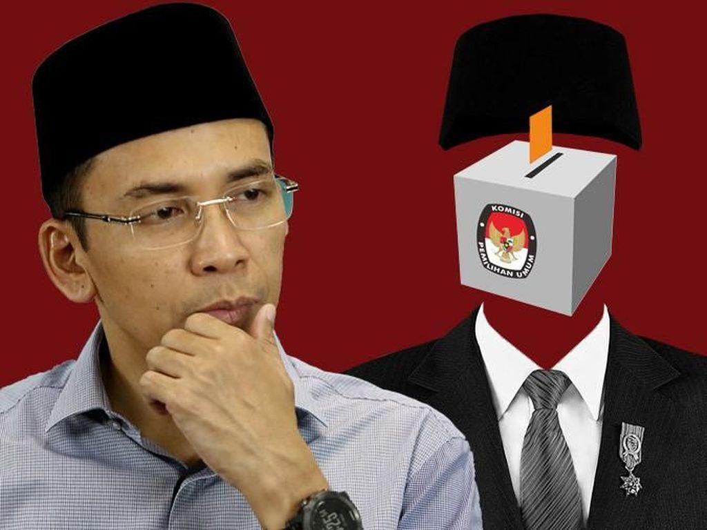 PDIP Gembira TGB Dukung Jokowi 2 Periode