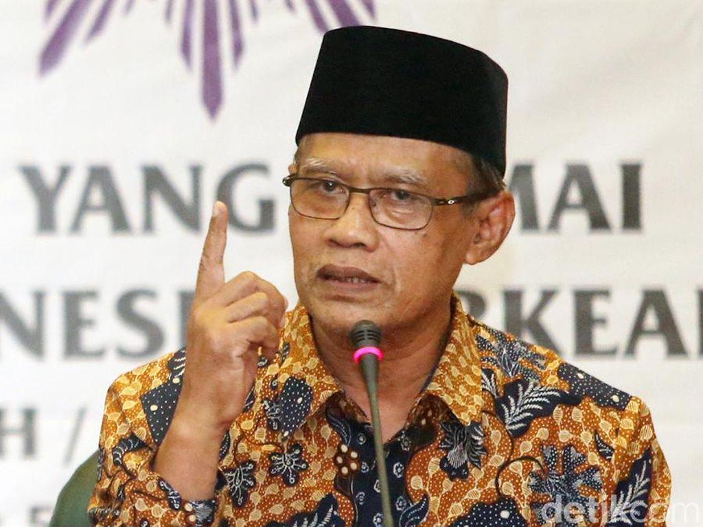 Ketum Muhammadiyah: Kenapa Ngotot Salat Tarawih di Masjid Saat Wabah Meluas?