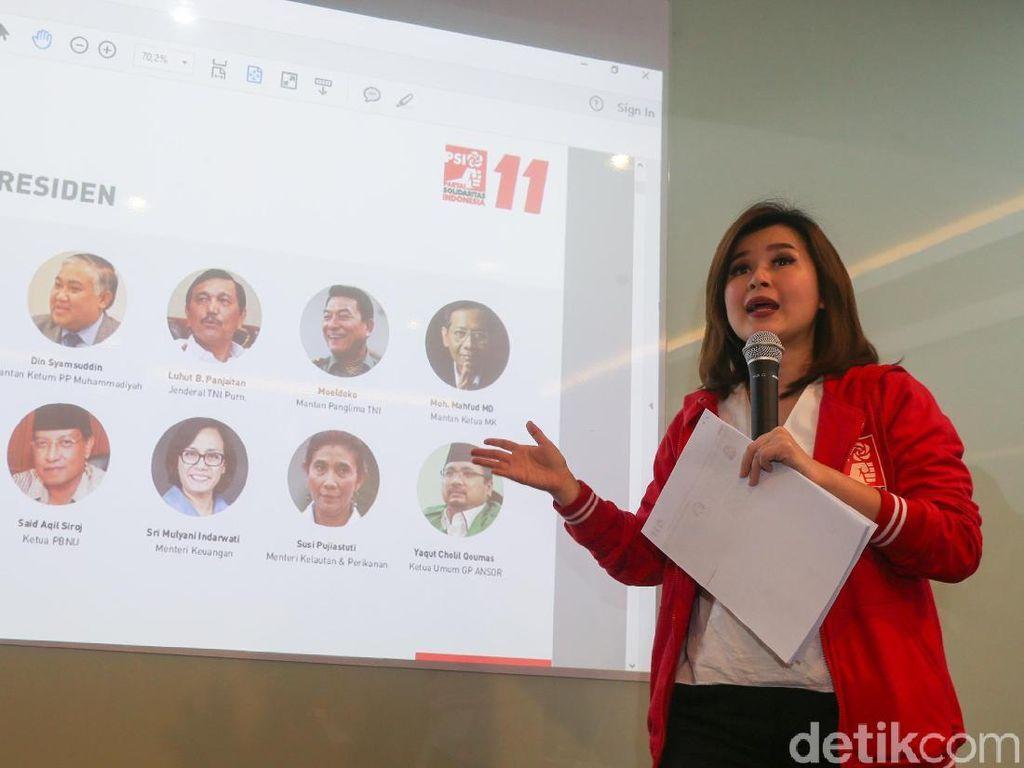 Foto: Ini 12 Kandidat Cawapres Jokowi Versi PSI