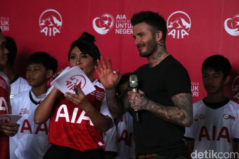 Indra Sjafri Ungkap Perbincangan Singkat dengan Beckham