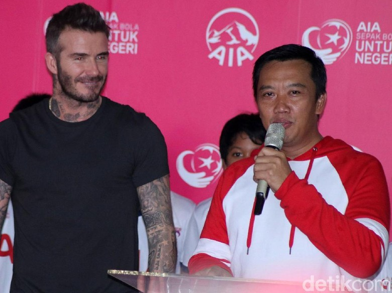 Menpora: Kedatangan Beckham Jadi Tambahan Motivasi untuk Hidup Sehat