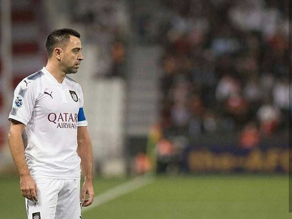 Belum Waktunya Xavi Kembali ke Barcelona