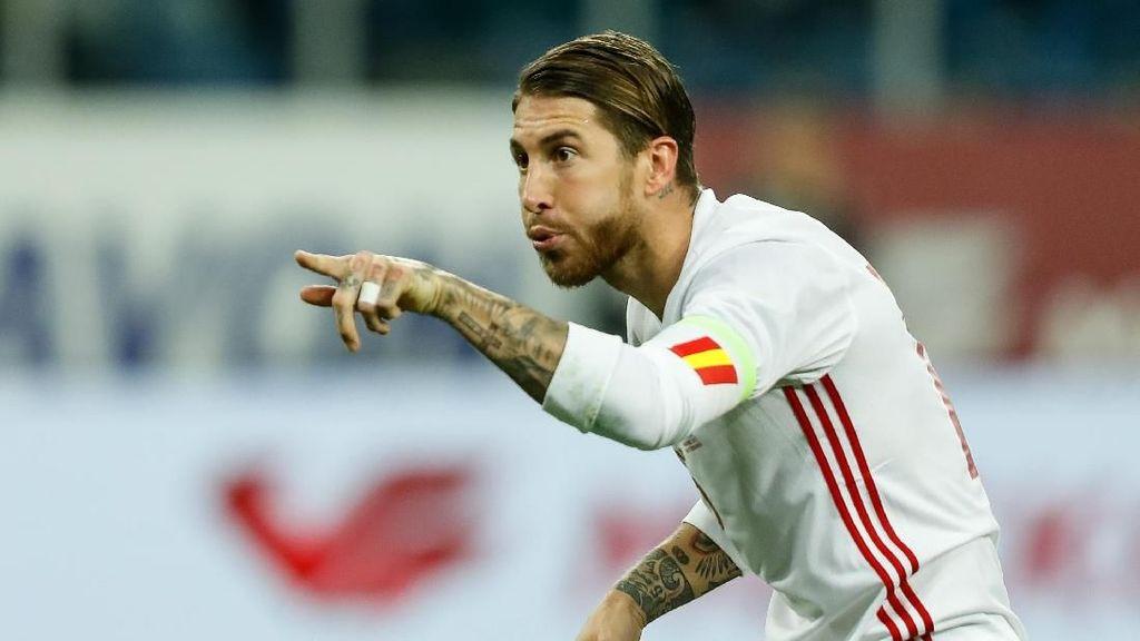 Sergio Ramos dan Pemain-Pemain dengan Caps Terbanyak