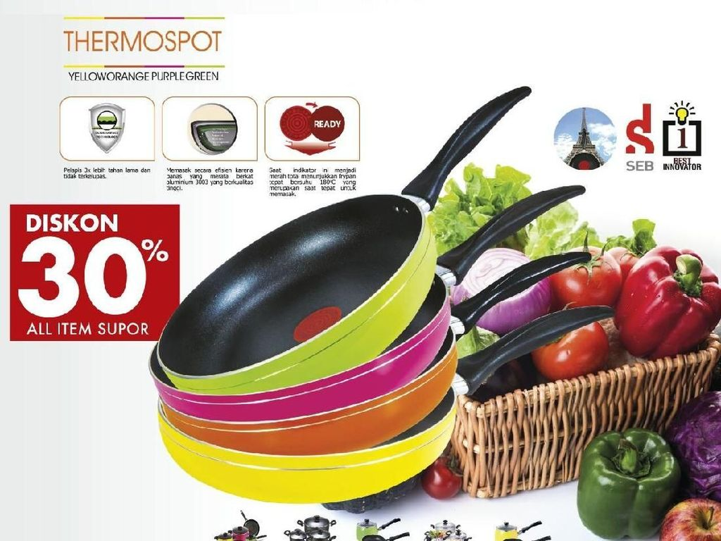 Gratis! Yuk Ikutan Demo Masak di Index Living Mall