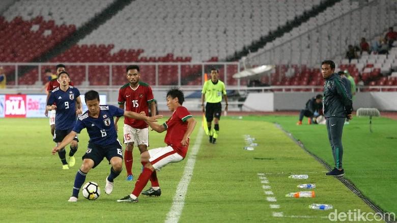 Timnas U-19 Dibantai Jepang, Suporter Teriakkan Nama Indra Sjafri