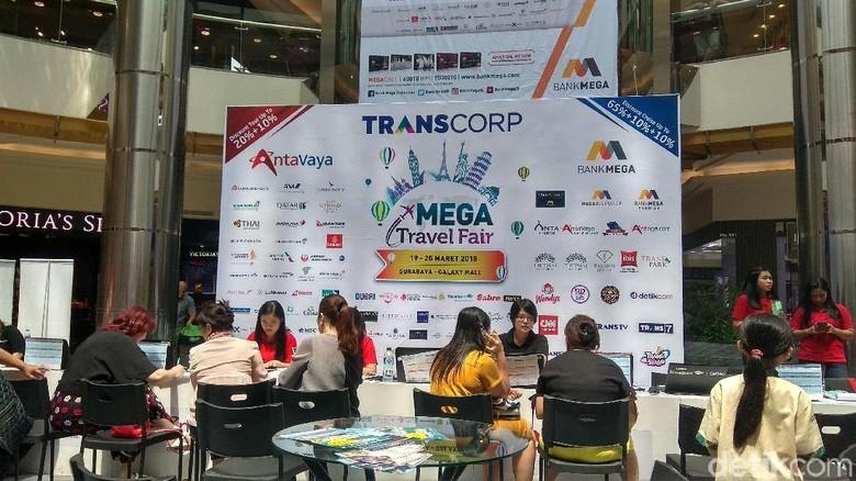 Mega Travel Fair Surabaya (Hilda Meilisa Rinanda /detikTravel)
