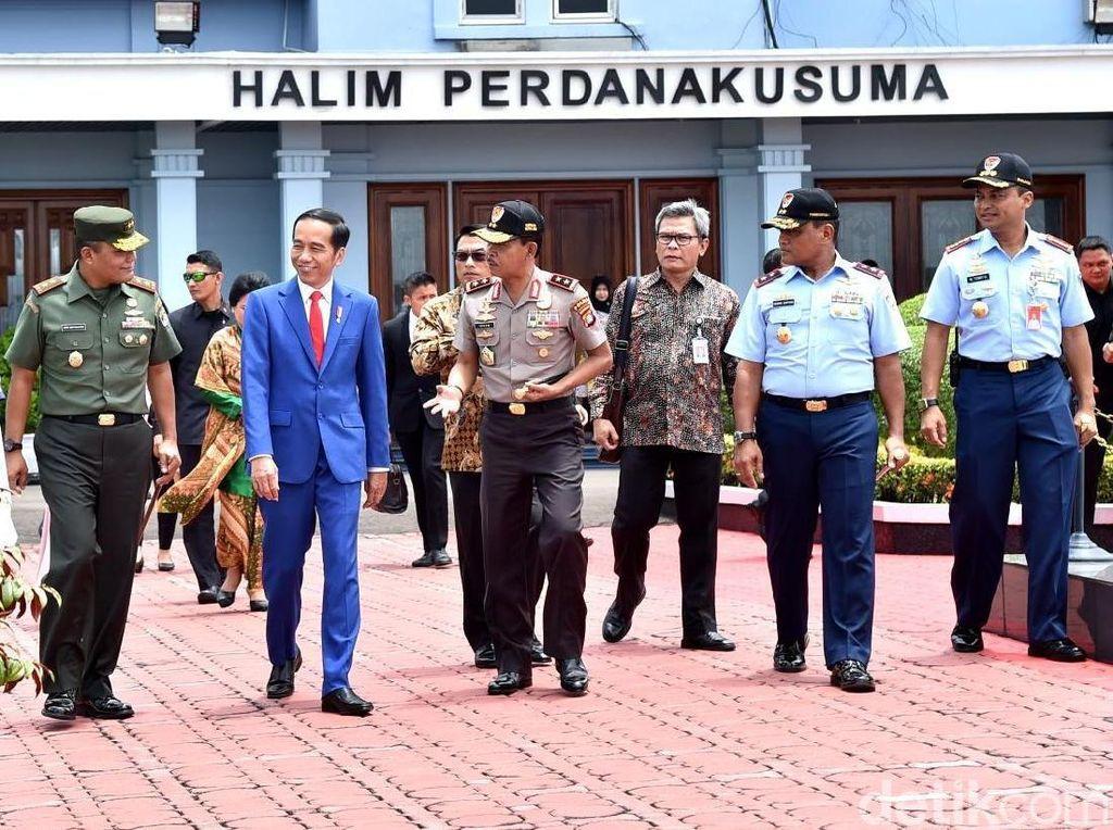 Jokowi Bertolak ke Martapura, Hadiri Haul Guru Sekumpul