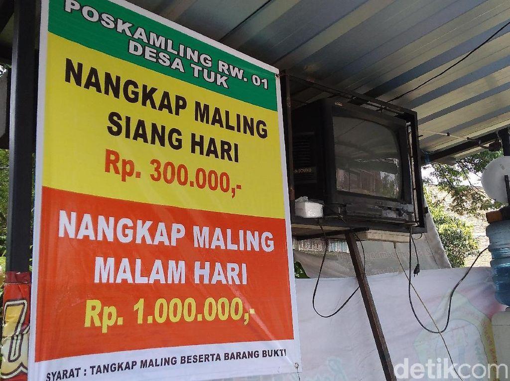 Foto: Tangkap Maling di Cirebon Berhadiah Rp 1 Juta