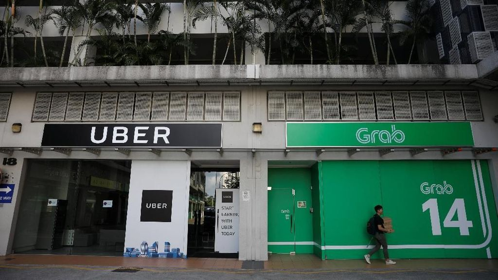 Grab dan Uber Bersatu Melawan Go-Jek