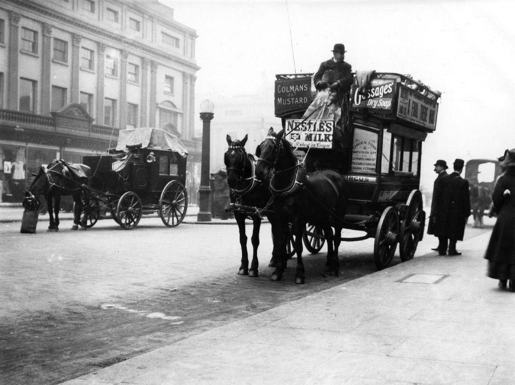 Sejarah Bus Tingkat di Inggris