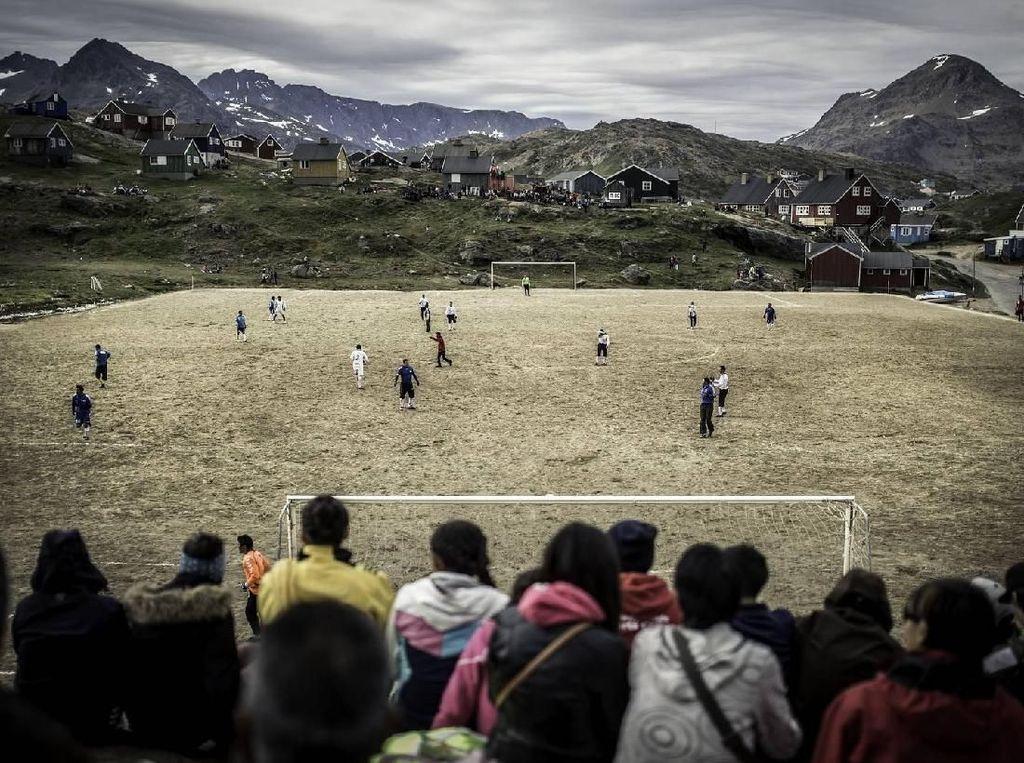Inikah Stadion Sepakbola Terindah di Utara Bumi?