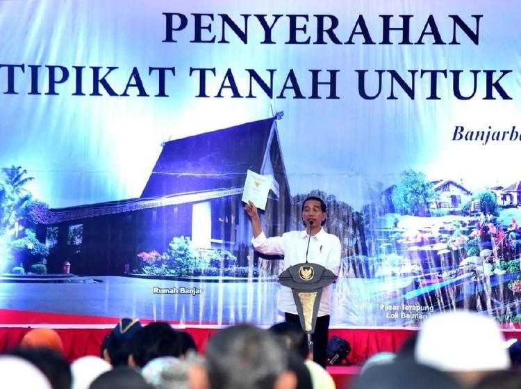 Jokowi Tetap Boleh Bagi Sertifikat Saat Kampanye Pilpres