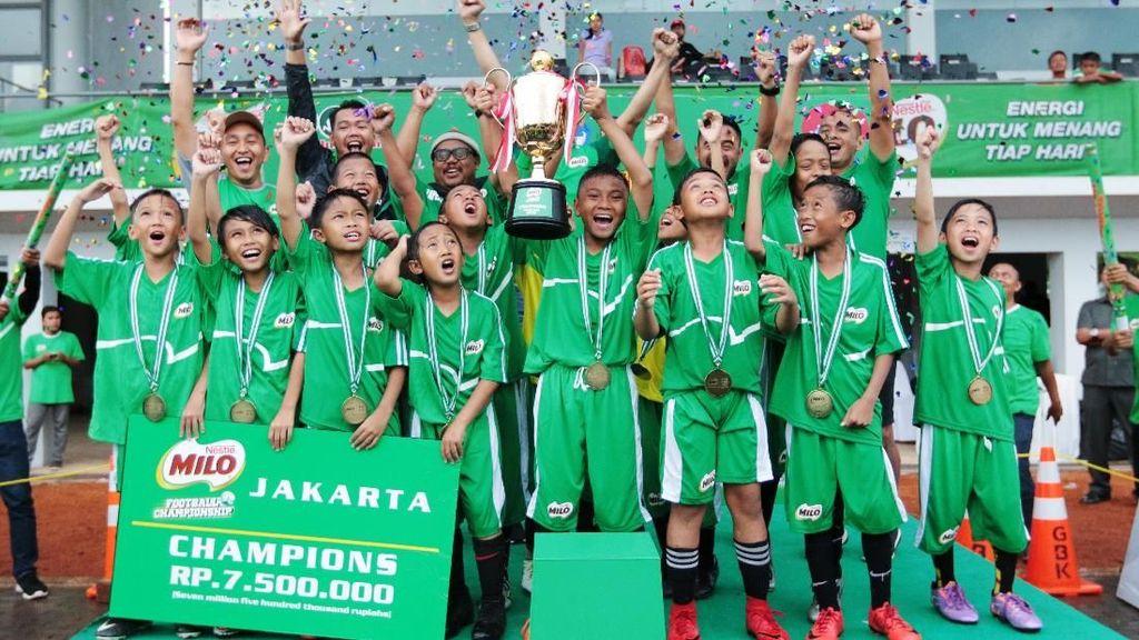 SD Islam Al Jannah Cibubur Juara MILO Football Championship