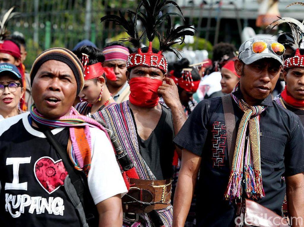 Pemuda NTT Demo Istana Negara