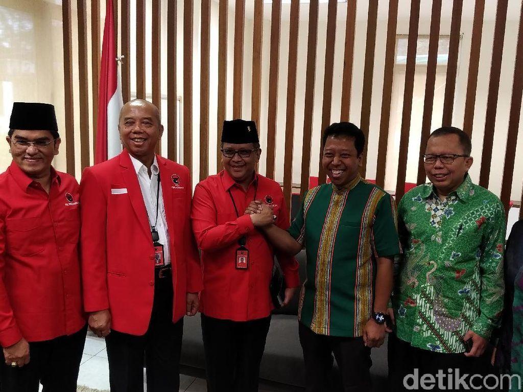 Gelar Pertemuan, PPP dan PDIP Bahas Cawapres Jokowi