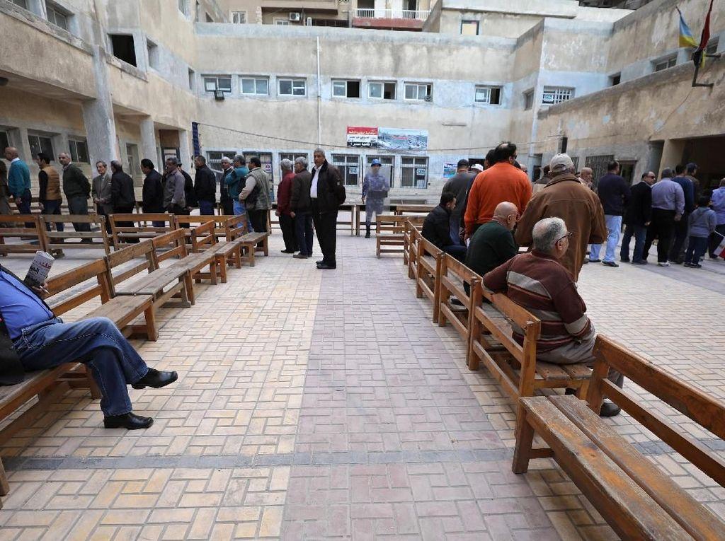 Foto: 60 Juta Warga Mesir Memilih di Pilpres