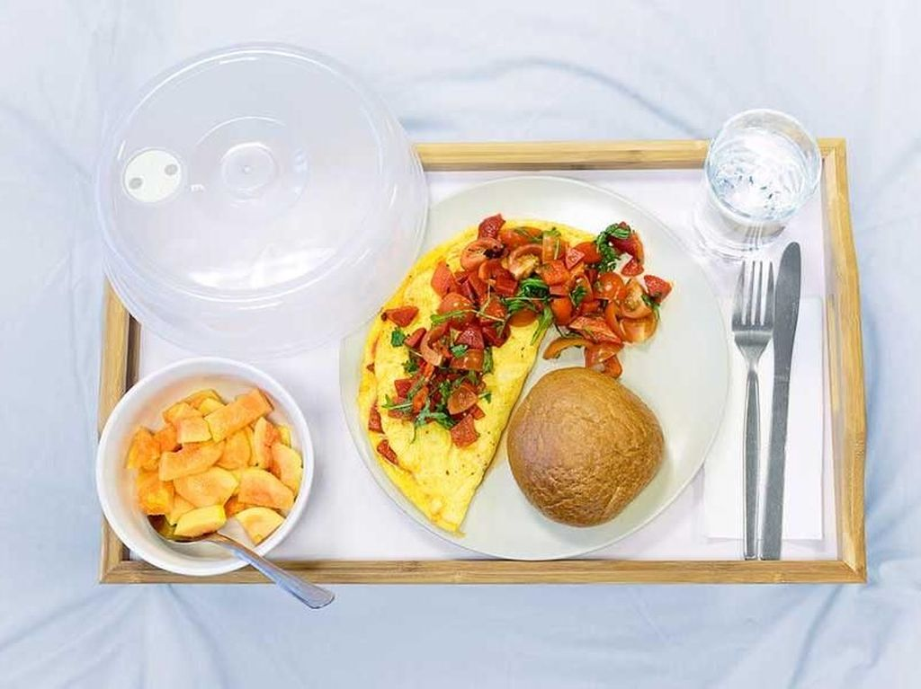 Lihat! Ini Menu Makanan di 10 Rumah Sakit Dunia yang Menggiurkan