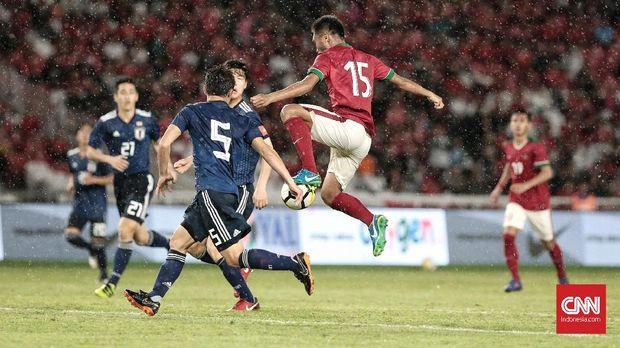 Timnas Jepang U-19 pernah mengalahkan Timnas Indonesia U-19 di Stadion Utama Gelora Bung Karno.