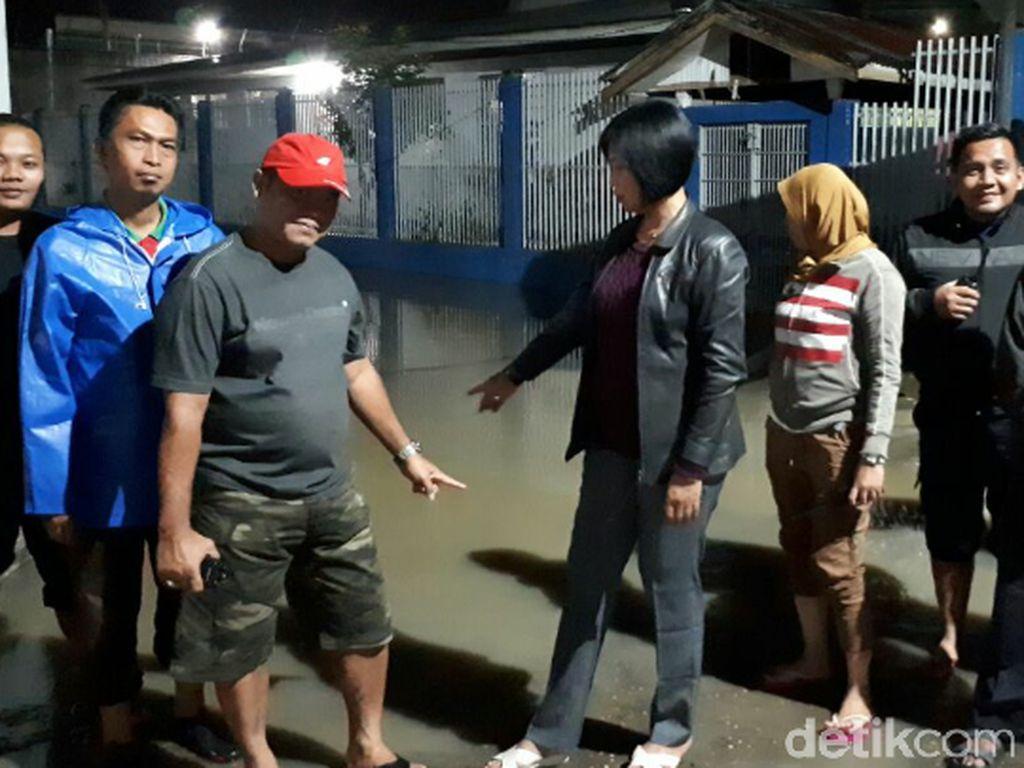 Kondisi Lapas Jambi yang Kena Banjir Lagi