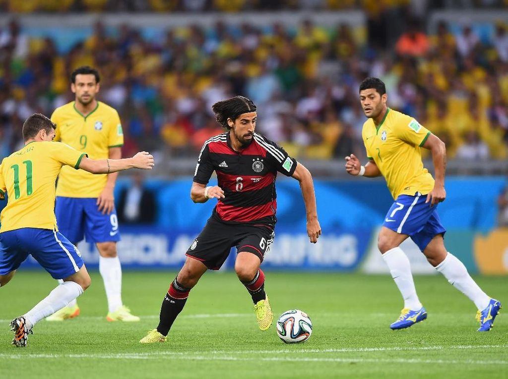 Jelang Duel dengan Brasil, Jerman Tak Pikirkan Kemenangan 7-1