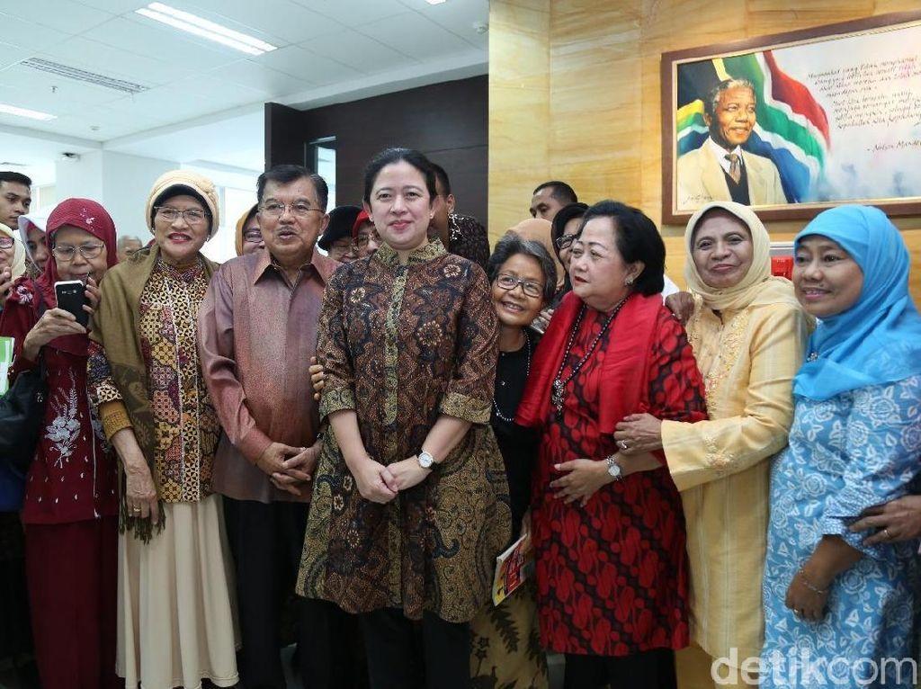 Puan Ingin Perpusnas Jadi Big Data Indonesia