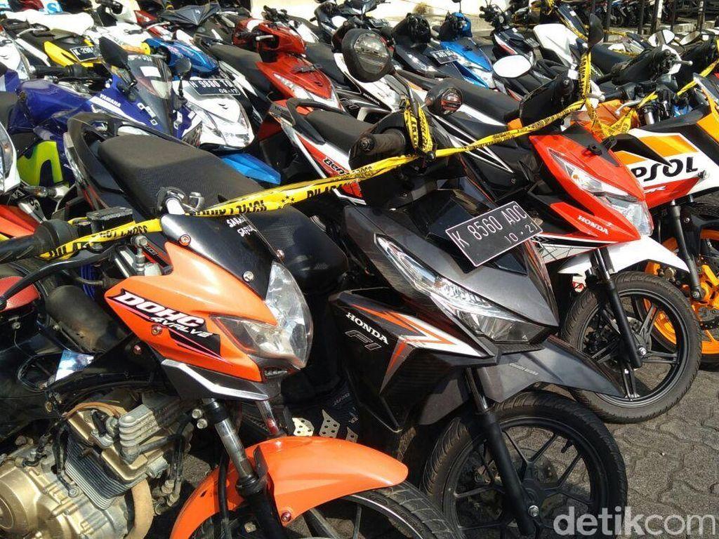 Puluhan Motor Curian di Semarang Dijual Hingga Karimunjawa