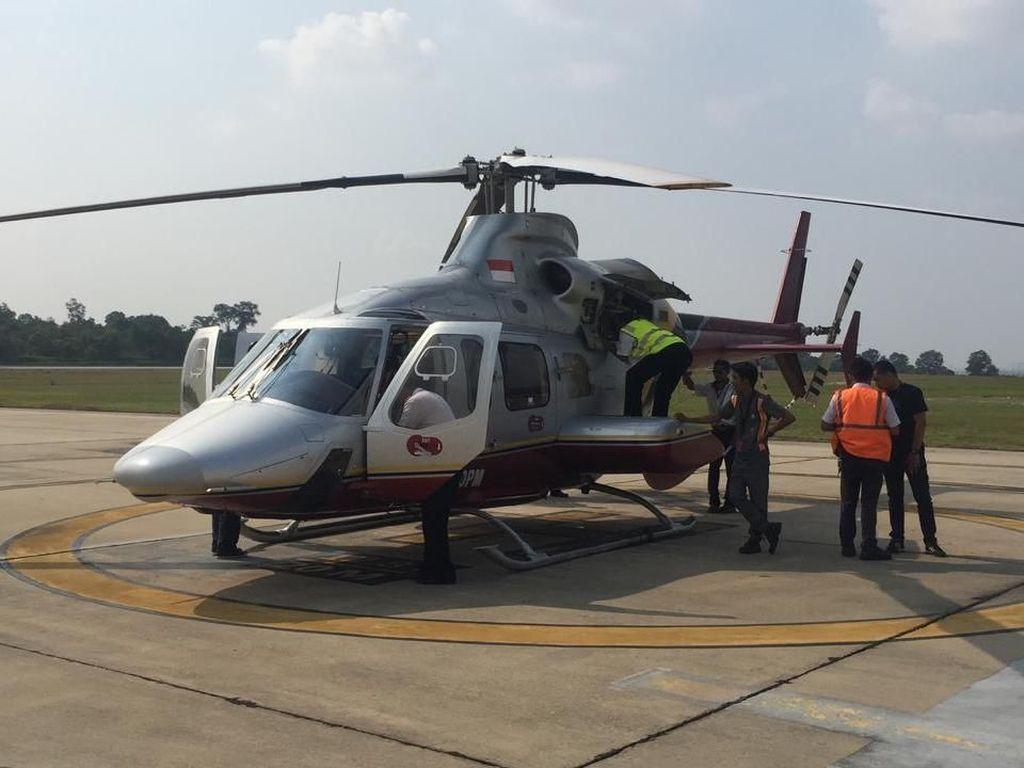Antisipasi Kebakaran Hutan, 3 Heli Pemerintah Pusat Tiba di Riau