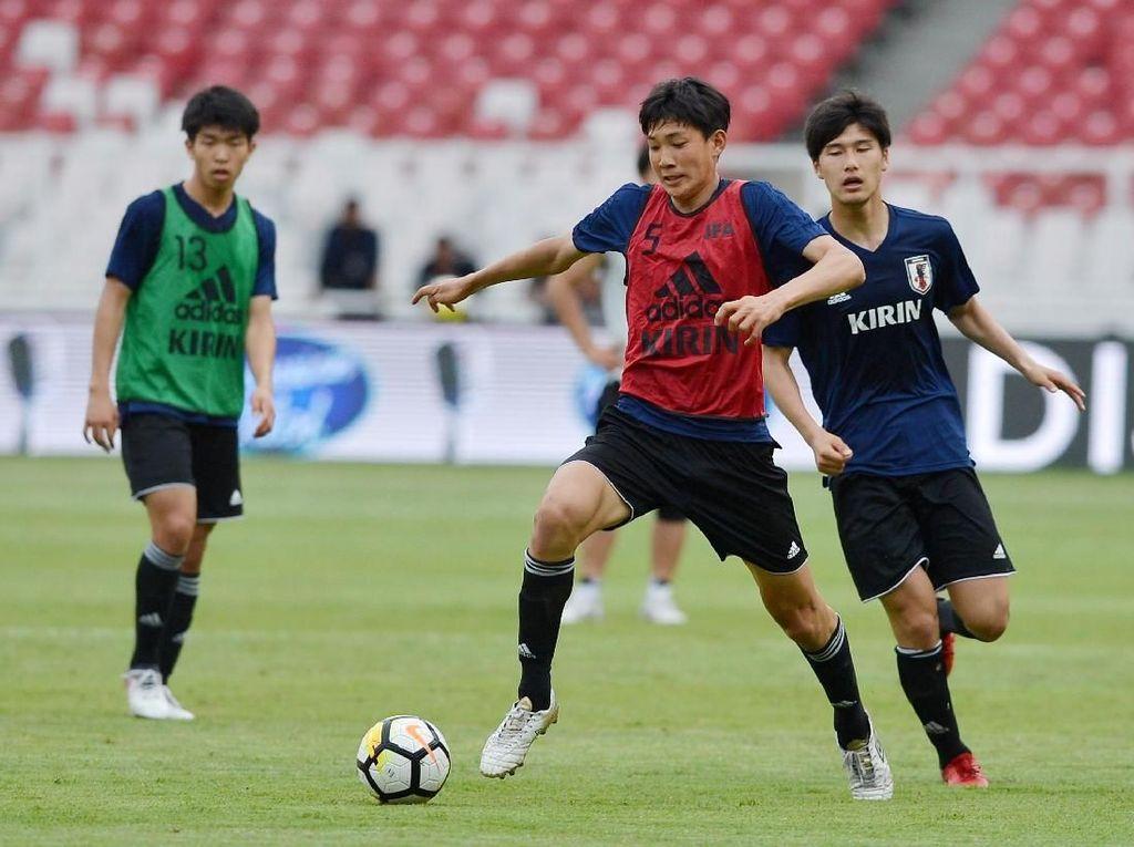 Timnas Jepang U-19 Dapatkan Banyak Pelajaran di Jakarta