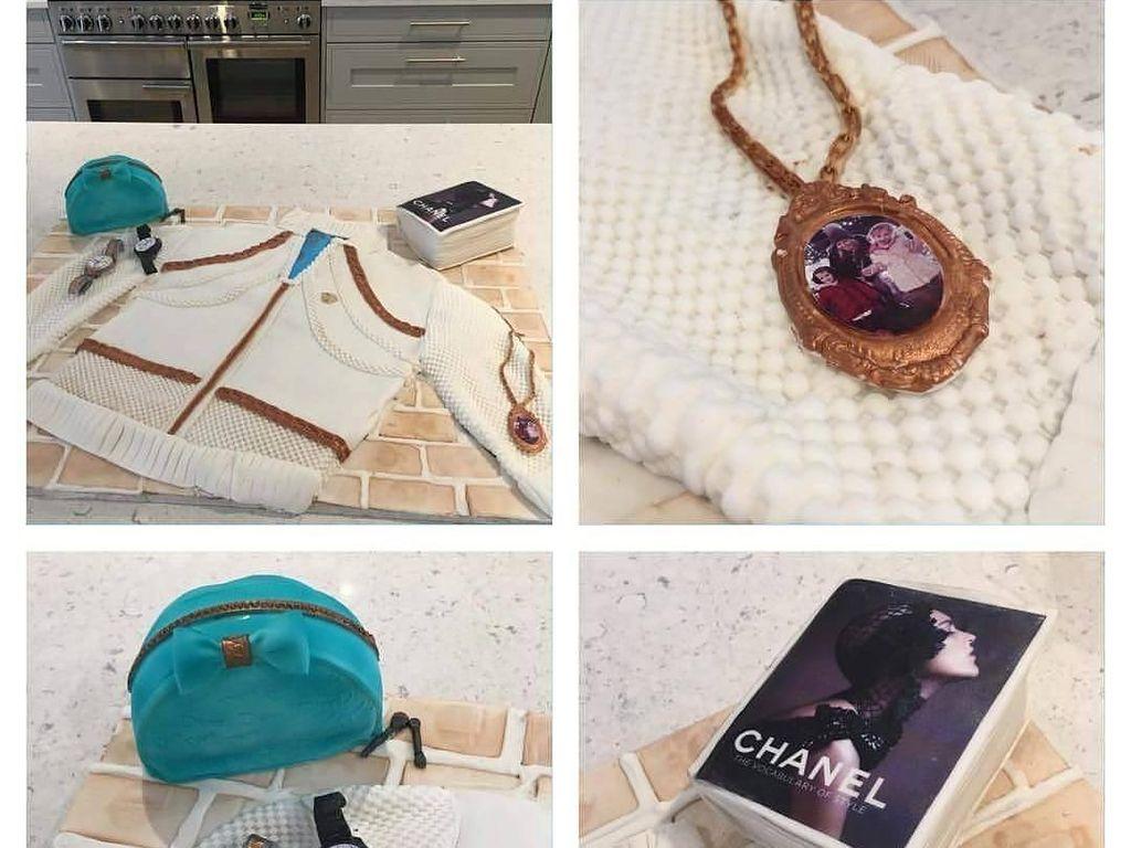 Keren! Desainer Ini Bikin Tas Hermes dan Jam Tangan Rolex dari Kue
