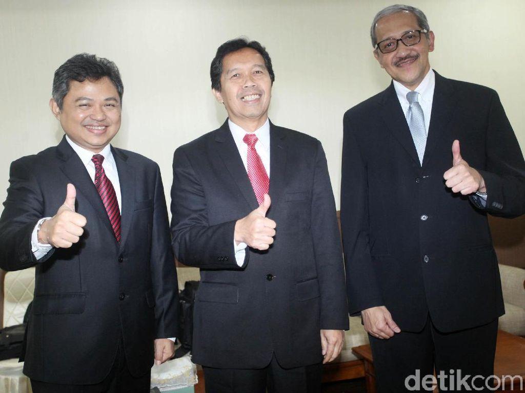Foto: Tiga Calon Deputi Gubernur BI Jalani Uji Kelayakan
