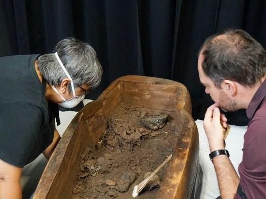 Foto: Mumi Berumur 2.500 Tahun Ditemukan di Universitas Sydney