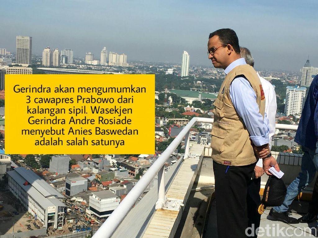 Meme Politik: Ingar Bingar Anies Kandidat Cawapres Prabowo