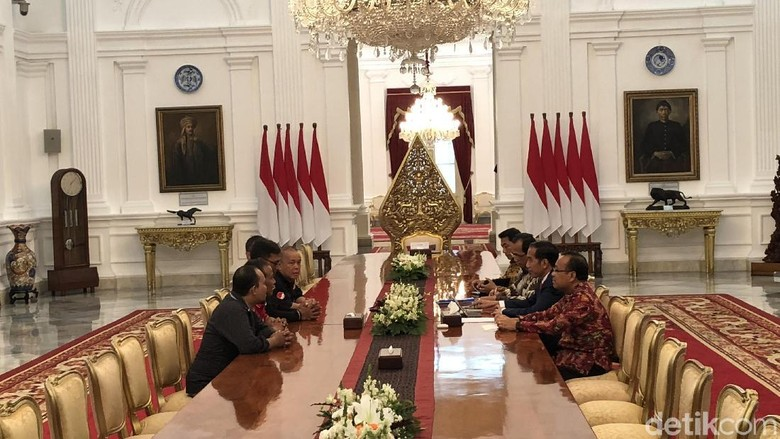 Driver Ojol Temui Jokowi, ini Kata Manajemen Go-Jek
