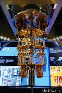 Komputer Kuantum milik IBM, yakni IBM Q