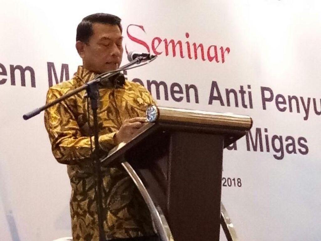 Moeldoko Dorong SKK Migas Terapkan Sistem Anti Suap