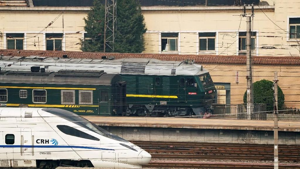 Foto: Ini Kereta Misterius di China yang Diduga Bawa Kim Jong-Un