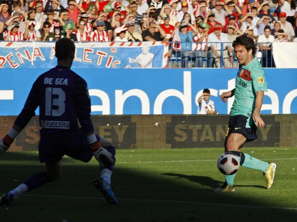 Statistik De Gea vs Messi