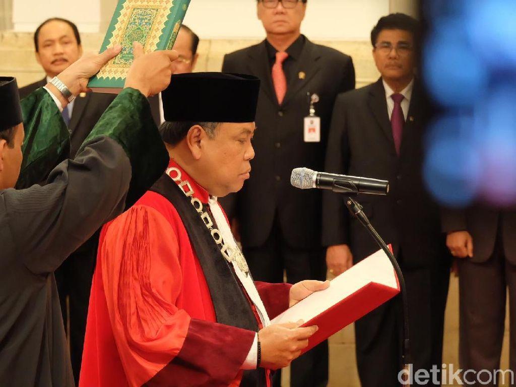 Junimart Pastikan Posisi Hakim MK Arief Hidayat Bukan Hasil Lobi