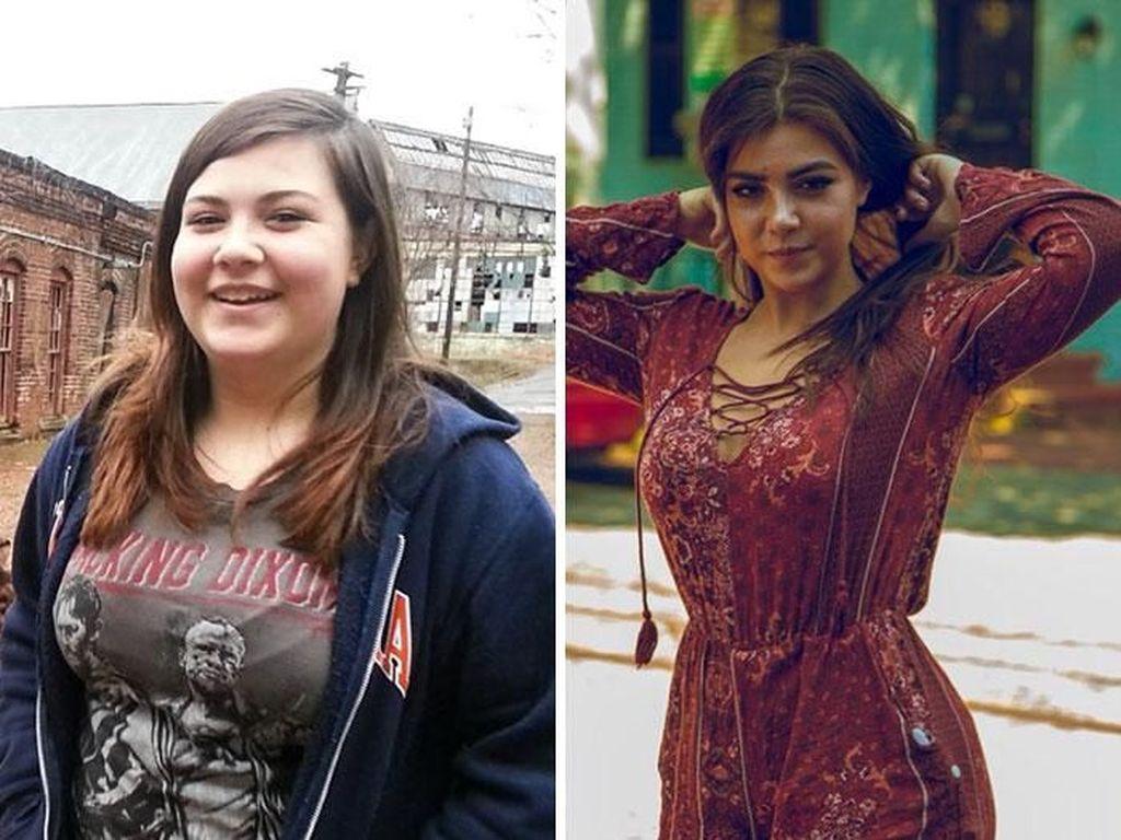 Potret Perubahan Dramatis Wanita Dulu Culun Kini Menggoda