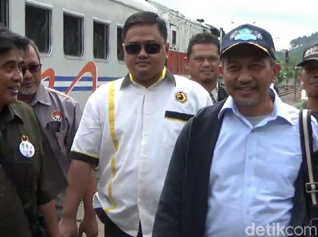 Kampanye ke Kota Banjar, Syaikhu Naik Kereta Ekonomi