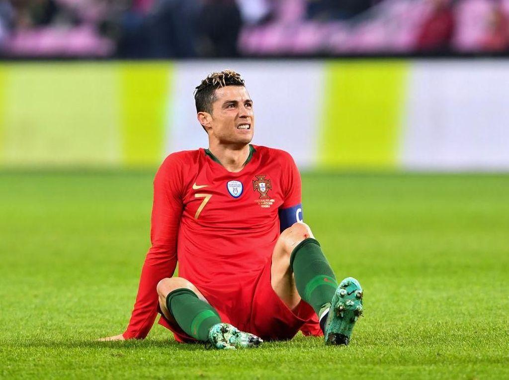 Ronaldo Tanpa Tembakan, Rentetan Golnya Terhenti, Portugal Kalah