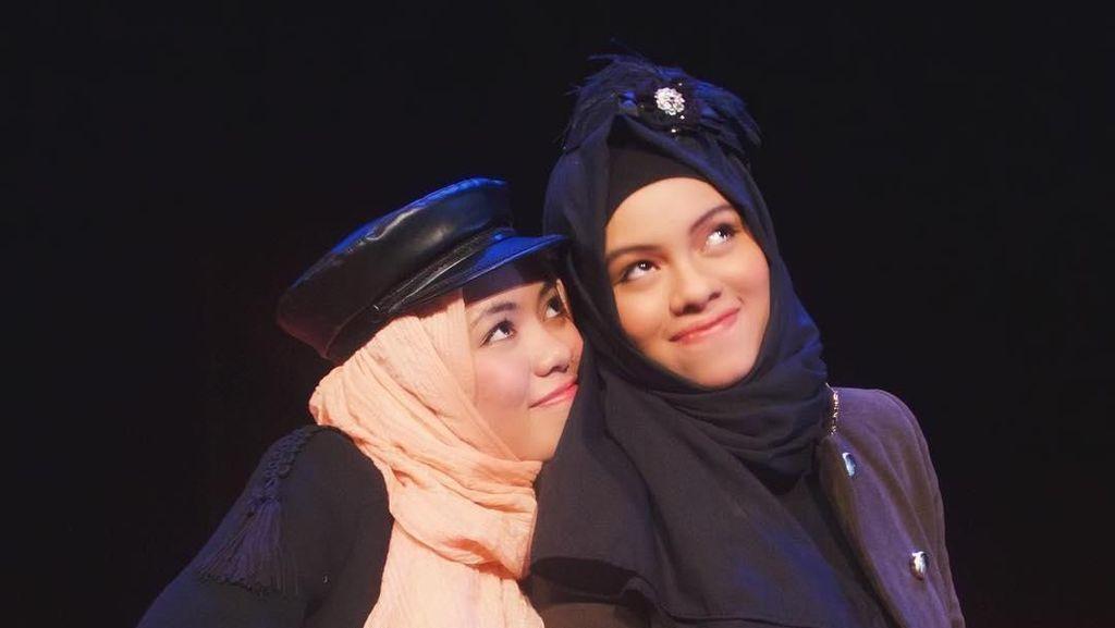Foto: 14 Gaya Hijab Unik Khas Keluarga Gen Halilintar