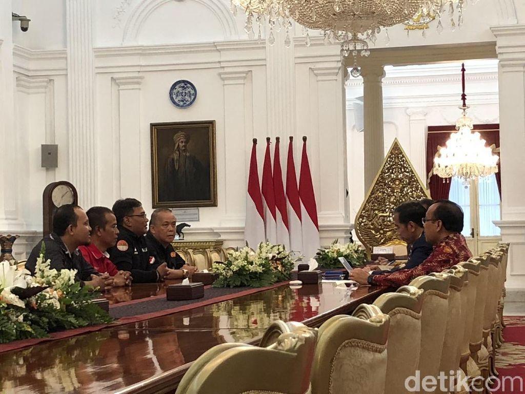 Driver Ojol Usul Tarif Baru ke Jokowi