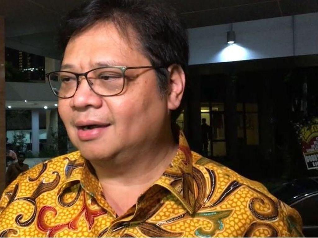 Airlangga Tepis Eni soal Perintah Partai Kawal Proyek PLTU Riau-1