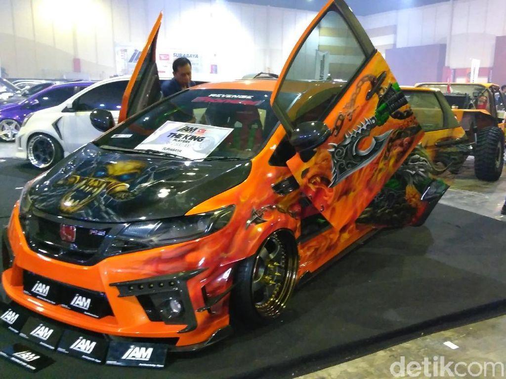 Honda Jazz Raja Modifikasi Surabaya