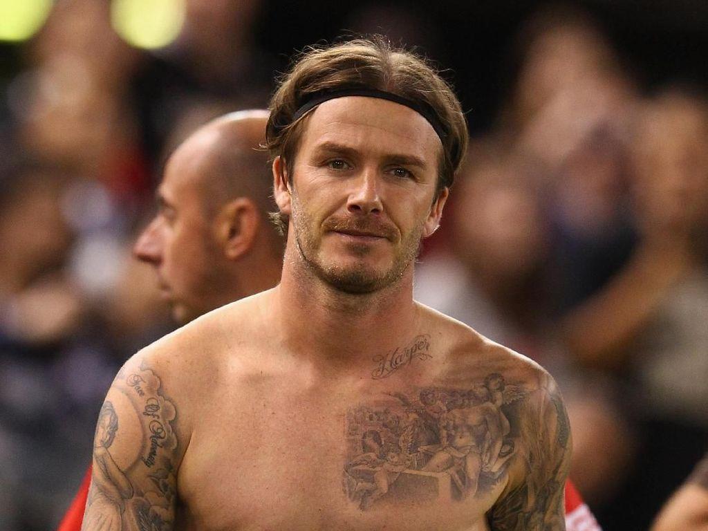 Foto David Beckham di Iklan Celana Dalam Dibahas Lagi