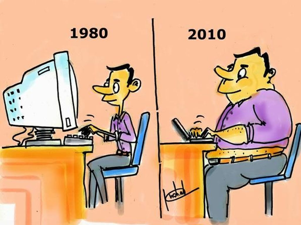 Ilustrasi Bedanya Kehidupan Dulu dan Sekarang