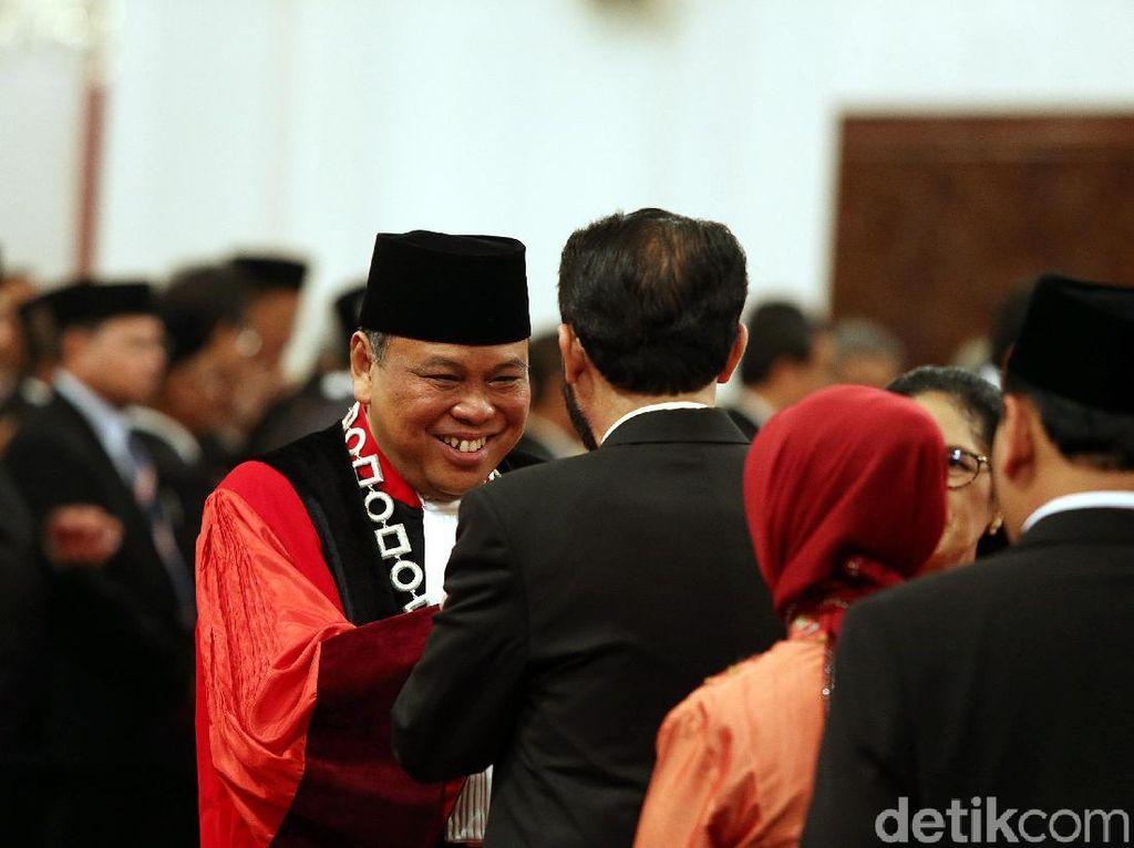 Arief Hidayat Jadi Hakim MK Lagi di Tengah Kontroversi