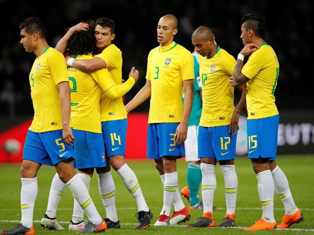 Oke Saat Kualifikasi, Brasil Dituntut Melaju Jauh di Rusia